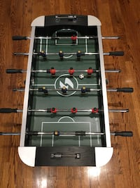 Foosball and Air Hockey Table Package.