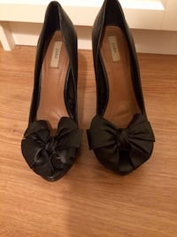 Zara high heel sandals size 37