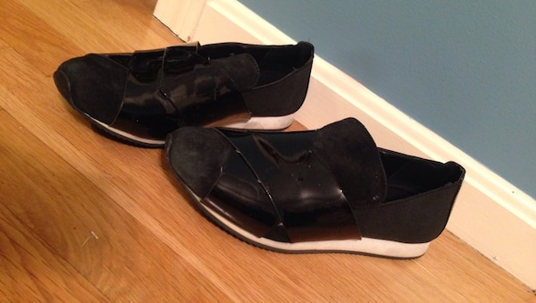 Calvin Klein slip on shoes flats good condition size 7.5