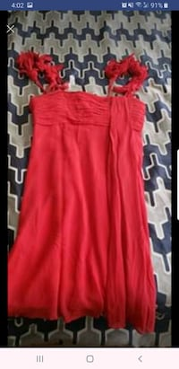 BCBG Maxaria red dress size 8 from lord and taylor  Lake Ridge, 22192