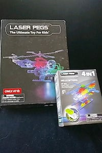 Two Laser Pegs sets  Cooksville, 21723