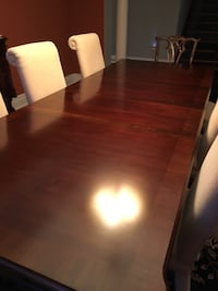"Dining room table with two leafs 106"" long Caledon, L7E 0C1"