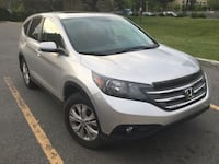 """2013 Honda CRV EX-L AWD 42000km Leather interior Silver Color  Bought it new First and only owner Maintenance always made at Hinda Dealer, Premium Oil change every 6000 km. The Car runs like new.  Roof, Camera, hood deflector, Sherlock, hitch 2"""", all weat Montréal, H4M"""