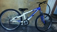 blue and white hardtail mountain bike Phoenix, 85043