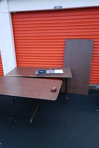 LOT OF 5 FOLDING TABLES