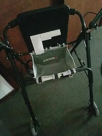black and white rollator walket Springfield, 45506