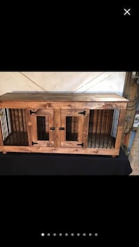 Custom made Dawg crate television tables, and desk!  Eastvale, 92880