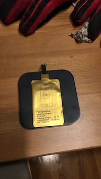 Black and yellow wireless charger Edmonton, T5B