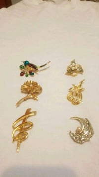 Elegant broach pins for any occasion.  Burnaby