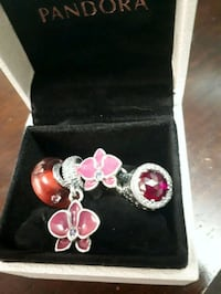 Pandora purple orchid set Ajax, L1S 5C7