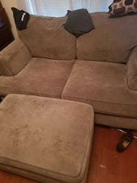 Couch, loveseat, and ottoman for sale