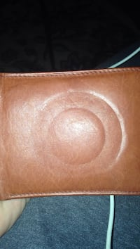 Brown leather wallet Henrico, 23238