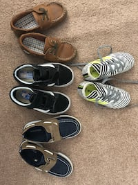 Boys shoes size 10 and 11 $7-$10 187 km