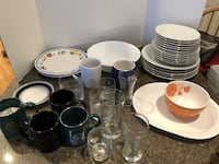 Lot of 36 Random Dishes $15 for all Manassas