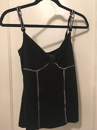 Black spaghetti strap top Windsor, N8Y 3E5