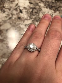 Halo Diamond engagement ring (no band) Poolville, 76487