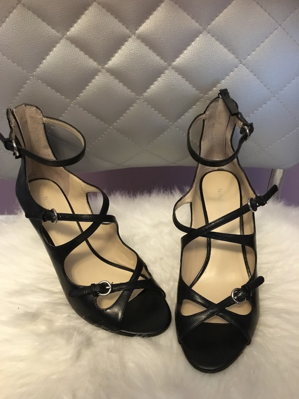 25e5af6673cf Used Nine West strappy shoes in great condition for sale in Marietta - letgo