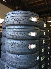 275/55R20 SET OF 4 TIRES ON SALE ⭐WE CARRY ALL MAJOR BRAND AND SIZE  Union City, 94587