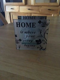 home is where your story begins signage Guelph, N1G 3Z6