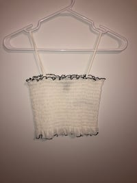 Forever 21 ruffled top Size: S