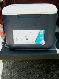 Cooler, Coleman Extreme 50qt. Only a blue one