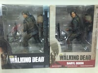 "The walking dead 10"" deluxe action figures never opened 313 mi"