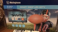 "32 ""Westinghouse smart tv new in box 90 days labour and part warranty  Toronto, M1W 2N2"