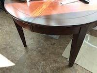 Beautiful dining table with 4 chairs and leaf.  Seats 8 Seminole, 33708