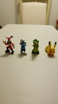 Character Figure Toys(4 toys) Collect Now!
