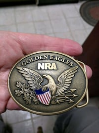 NRA GOLDEN EAGLES  BELT BUCKLE Thurmont, 21788