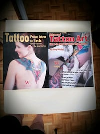 Two brand new books about how to tattoo and the art of tattooing. Toronto, M5S 1Y4