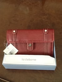 Leather Burgundy Ladies Wallet Germantown, 20874