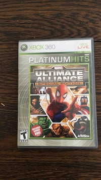 Marvel ultimate alliance special edition xbox 360 game.