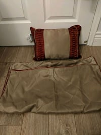 Matching cushion and pillow case set NEW Toronto, M4W 1A9