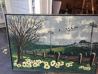 Sofa size oil painting  Woodbridge, 22192
