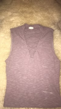 Women's purple tank top Edmonton, T6R 0R9
