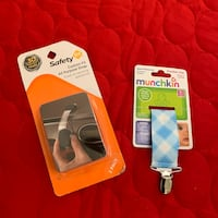 Baby pacifier clip and safety strap for baby proofing Fairfax, 22033
