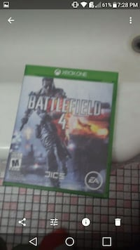 Xbox 360 Battlefield 4 game case Laval, H7P 3N6