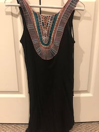 black and gray sleeveless dress Woodbridge, 22192