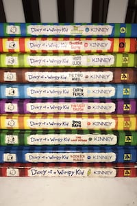 Diary Of A Wimpy Kid Books 1-8 & 11-12