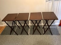 4 Folding Tables Sterling, 20164