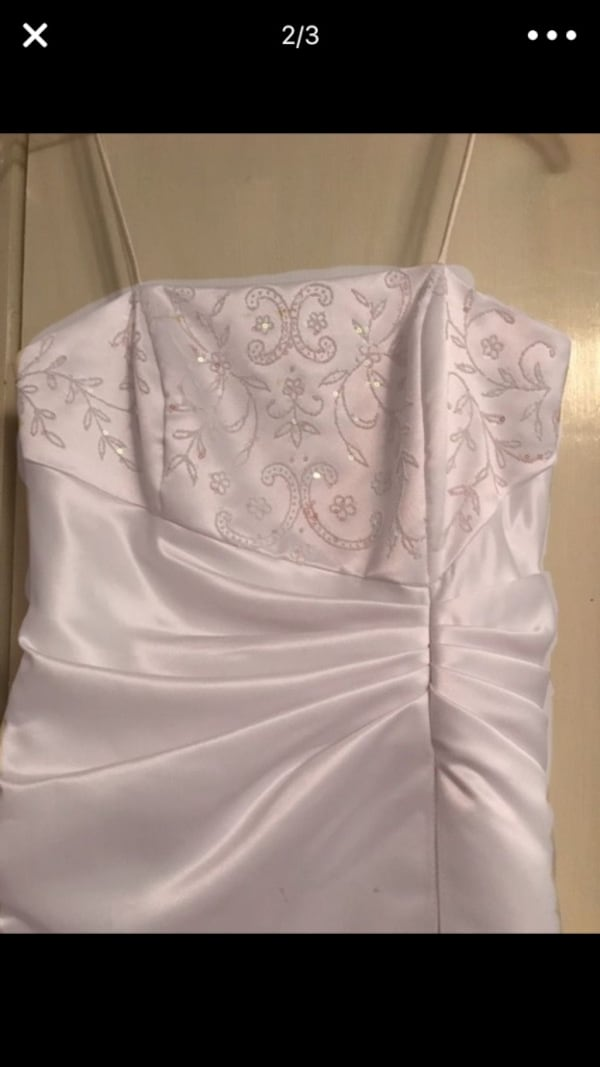 Wedding/Formal Dress    *** CAN BE DYED ANY COLOR or left white. 4e9e0539-b9fa-498b-a298-29b75d134f46
