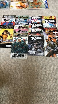 X-Men comic book collections