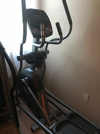 black and gray elliptical trainer Rochester, 14620