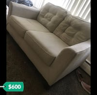 Two Piece Couch Set! Lightly Used Troy