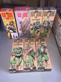 Gi Joe Box Set Figures Here At Mantiques/Toy Trauma in Fremont Niles Ca   37671 Niles Blvd Fremont Ca. 94536  Open Tuesday-Friday 12-5 Saturday/Sunday 11-6 Fremont, 94555