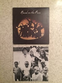 BAND ON THE RUN ALBUM WITH POSTER   Montréal, H4E 1K5