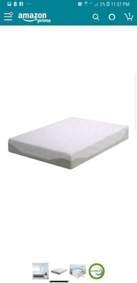 "New queen 11"" gel infused memory foam mattress Bakersfield, 93311"