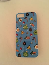 Angry Birds deksel, I Phone 5/5S/SE