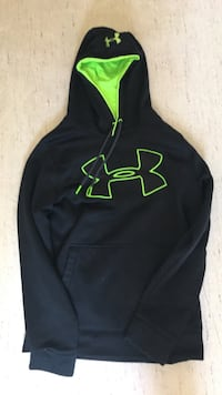 black and green Under Armour pullover hoodie Winnipeg, R3M 2T4
